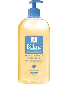 Biolane: Dermo-Paediatrics - Soothing Cleansing Oil 500ml (Huile Lavante apaisante) - 16% OFF!!
