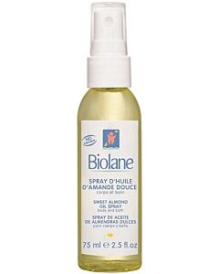 Biolane Sweet Almond Oil Spray 75ml - 10% OFF!