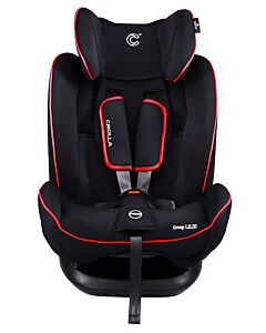 Crolla™ Aegis (ISOFIX Booster With Recliner) | Black Red - 38% OFF!!