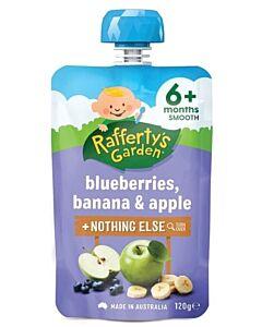 Rafferty's Garden: Blueberries, Banana & Apple 120g (6+ Months) - 23% OFF!!