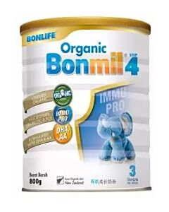 Bonlife Organic Bonmil Step 4 (3 Year Above) 800g - 16% OFF!!