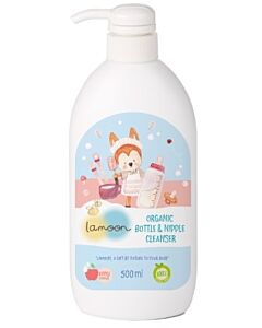 LAMOON: Organic Botle & Nipple Cleanser 500ml
