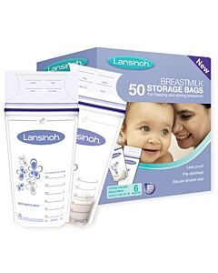 Lansinoh: Breastmilk Storage Bags 50pcs - 30% OFF!!