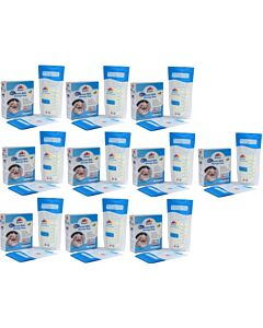Bubbles: Thermal Sensor Double Ziplock Breastmilk Storage Bags 7oz (25pcs) - 10 BOXES - BEST SELLER!! - 36% OFF!!
