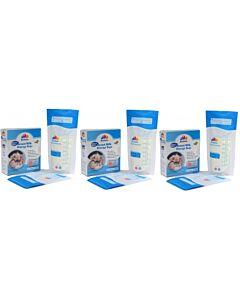 Bubbles: Thermal Sensor Double Ziplock Breastmilk Storage Bags 7oz (25pcs) - 3 BOXES
