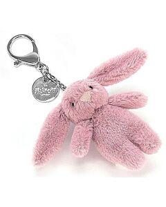 Jellycat: Bashful Bunny Tulip Bag Charm (8cm)
