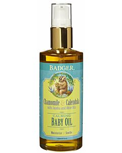 Badger: Calming Baby Oil 118ml / 4oz
