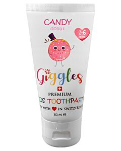 Giggles: Premium Kids Toothpaste 50ml - Candy Donut (1-6 years) - 10% OFF!!