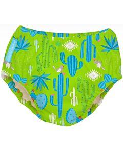 Charlie Banana: Reusable 2-in-1 Swim Diapers and Training Pants Cactus Verde - L