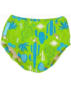 Charlie Banana: Reusable 2-in-1 Swim Diapers and Training Pants Cactus Verde - XL