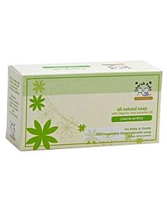 Cherub Rubs: All Natural Soap with Macadamia Oil (Lemon Myrtle) - 100g - 25% OFF!