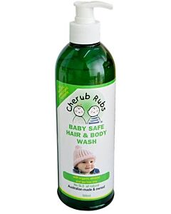 Cherub Rubs Organic Hair & Body Wash 500ml - 20% OFF!!
