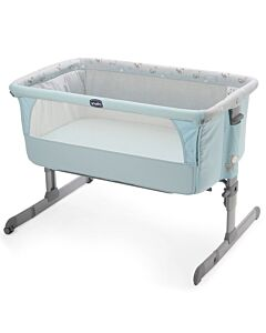 CHICCO Next 2 Me Bedside Crib - Ocean Blue