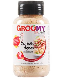 Groomy Chicken Powder 100g (For 8+ Months) - 31% OFF!!