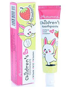 Autumnz: Children's Toothpaste with Xylitol 50g - Strawberry - 20% OFF!!