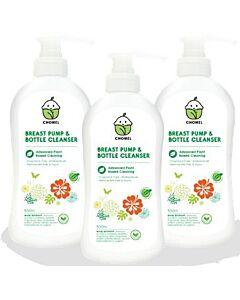 Chomel Breast Pump & Bottle Cleanser (500ml x 3) - 27% OFF!!