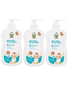Chomel Baby Head To Toe Wash 500ml (3 pack bundle) - 20% OFF!!