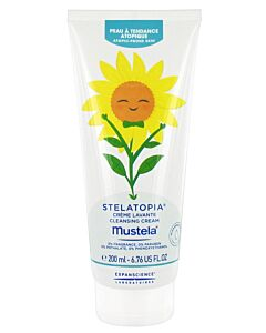Mustela: STELATOPIA® Cleansing Cream 200ml - 25% OFF!!