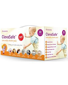 Clevamama: Home Safety Pack - 30pcs in a box - 27% OFF!
