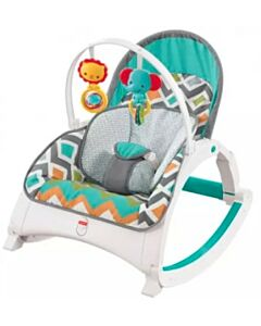 Fisher-Price: Newborn-to-Toddler Rocker (Glacier Wave) - 15% OFF!!