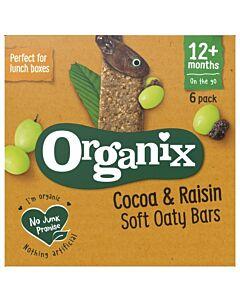 Organix Goodies Cocoa & Raisins 6 x 30g (12+ Months)