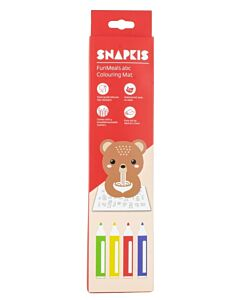 Snapkis: FunMeals Abc Colouring Mat - Bear - 25% OFF!!