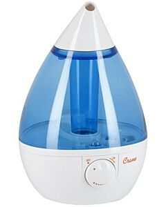 Crane Ultrasonic Cool Mist Humidifier Drop Shape (Blue/White) - 34% OFF!