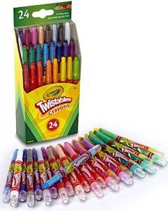 Crayola 24 Mini Twistable Crayons - 10% OFF!!