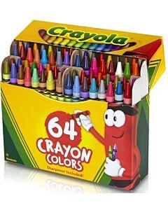 Crayola Nontoxic Crayons - 64ct - 10% OFF!!