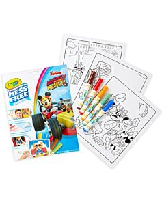 Crayola Color Wonder Mess Free Mickey Roadster Racers Coloring Pages & Markers - 20% OFF!!