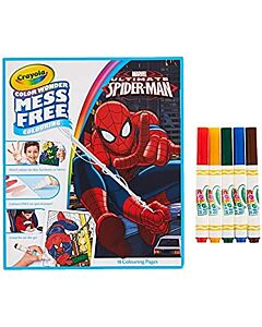 Crayola Color Wonder Mess Free Coloring Book and Markers Spiderman - 20% OFF!!
