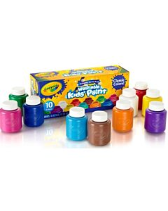 Crayola Washable Kids' Paint 10 colors 59ml - 20% OFF!!