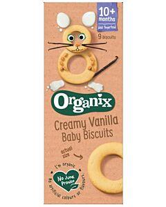 Organix Finger Foods Creamy Vanilla Baby Biscuits 54g (10+ Months)