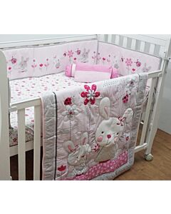 Happy Cot: Bedding Set - Cute Rabbit - 10% OFF!!