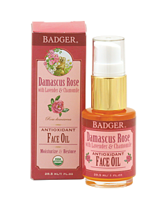 Badger: Damascus Rose Antioxidant Face Oil 1oz - 15% OFF!!