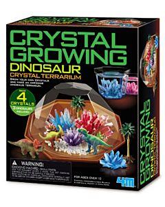 4M Kids Labs | Crystal Growing Dinosaur Crystal Terrarium - 15% OFF!!