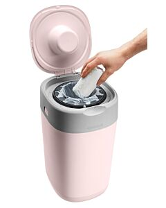 Tommee Tippee: Twist & Click Nappy Disposal Bin - Pink - 10% OFF!!