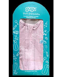 Gugu Premium Zipped Swaddle - Doodle