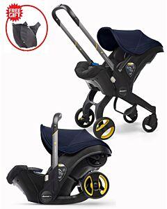 Doona Infant Car Seat Stroller *Model 2019* (FOC Snap On Storage Bag) - Royal Blue - 18% OFF!!