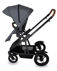 Babyhood: Doppio Inline Stroller (Single) - Nero -  21% OFF!!