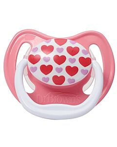 Dr. Brown's: PreVent Classic Orthodontic Shield Pacifier Stage1 (0-6m) - 1pc- 20% OFF!!