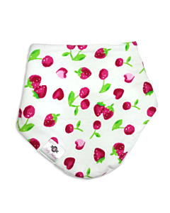 Baby Island: Baby Fashion Dribble Bib - Cherry - 10% OFF!