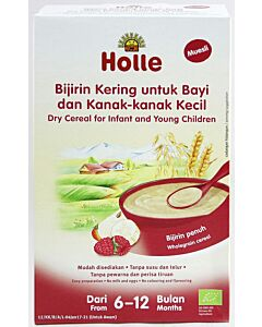 Holle Dry Cereal for Infant and Young Children (From 6 to 12 months) - Muesli (250g)