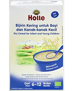 Holle Dry Cereal for Infant and Young Children (From 6 to 12 months) - Oats (250g)