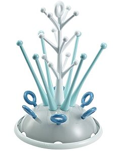 Beaba: Feeding Bottle Draining Rack (Blue) -20% OFF!