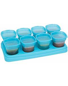 EASY Breastmilk & Baby Food Storage Cups (2oz) - Ocean Blue - 10% OFF!