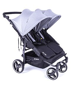 Baby Monsters Easy Twin 3.0 Stroller | Heather Grey - SPECIAL 61% OFF!! (Limited units left)