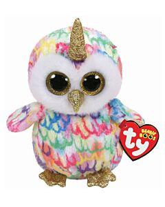 Ty Beanie Boos: Enchanted - Owl with Horn (Regular)