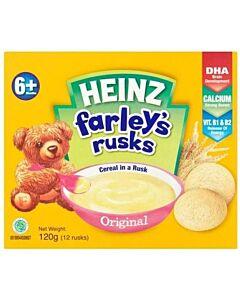 Heinz: Farley's Rusks Original 120g (From 6+ Months)