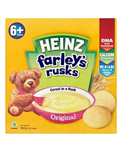 Heinz: Farley's Rusks Original 360g (From 6+ Months)